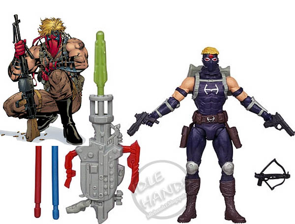 Sooo... do we get a Rob Leifeld Captain America figure next?... because I'd totally ironically buy that. Maybe hipster action figures are the next thing, Hasbro!